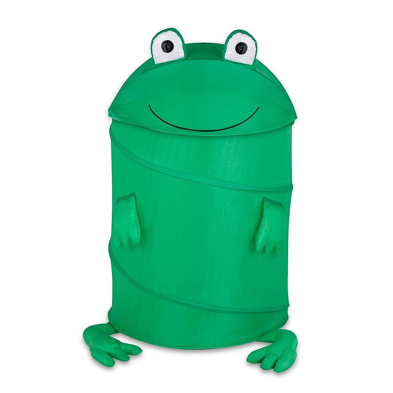 amazon com honey can do hmp 02058 kid u0027s pop up hamper frog