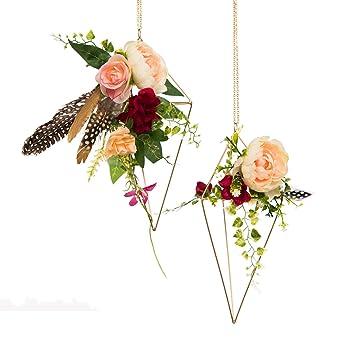 Amazon De Ling S Moment Bohemian Hochzeit 2 Pcs Gold Himmeli