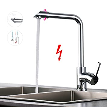 Extrem BONADE Niederdruck Küchenarmatur 360° Drehbar Niederdruckarmatur YQ85