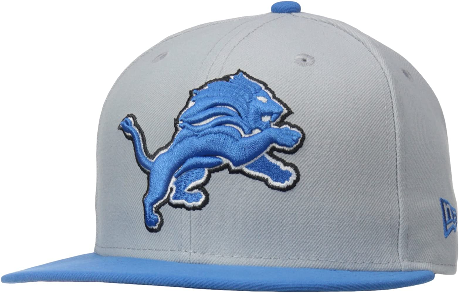 Nfl Mens Detroit Lions On Field 5950 White Game Cap By New Era