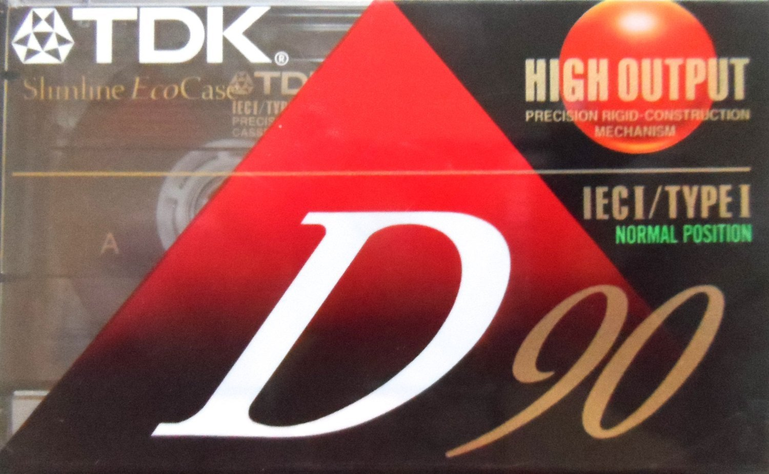 TDK D90 High Output 90 Minute IECI/Type I Cassette Tapes, Set of (7) by TDK
