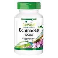 Echinacea 400mg - für 1 Monat - VEGAN - HOCHDOSIERT - 90 Kapseln - Echinacea purpurea