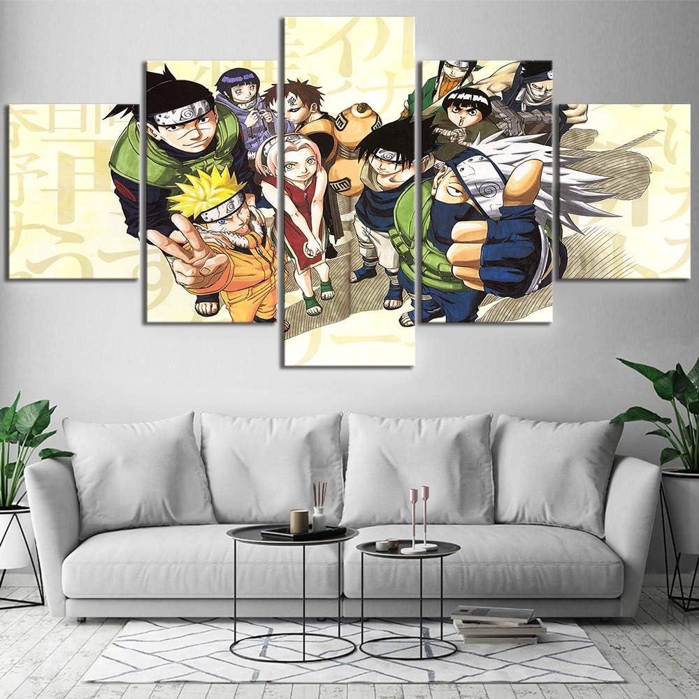 TELEGLO Kakashi Leinwand Malerei Kunstdruck Poster Bild Wand Moderne minimalistische Schlafzimmer Wohnzimmer Dekoration