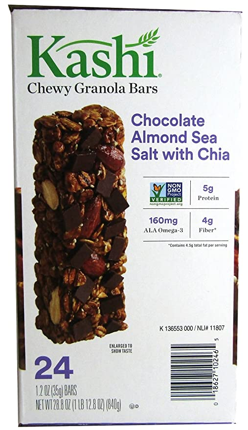Kashi Granola Bares, Chewy, Chocolate & sal de mar de ...