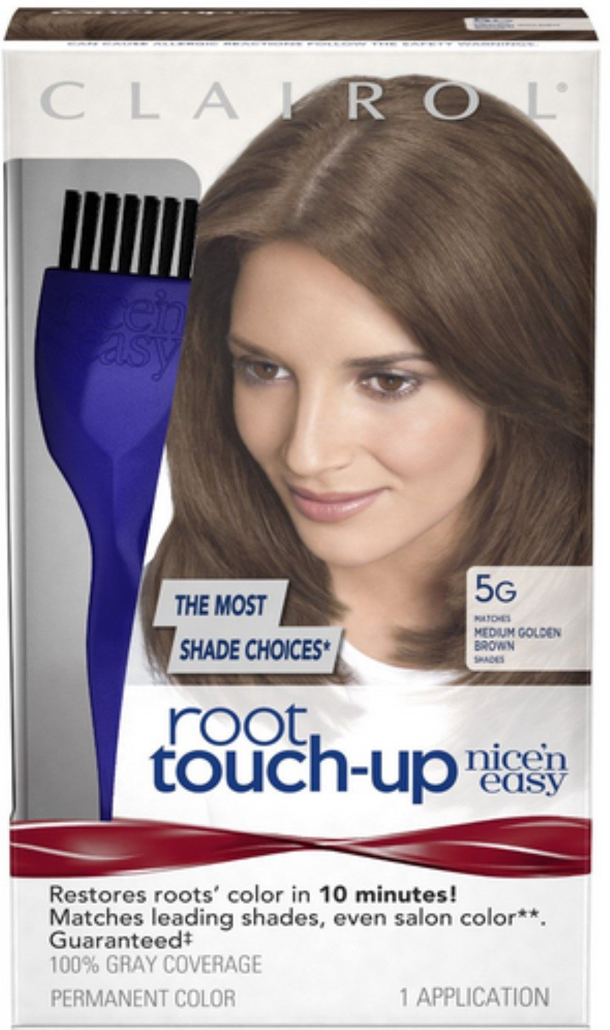 Nice 'n Easy Root Touch-Up, Medium Golden Brown [5G] 1 ea (Pack of 12) by Clairol