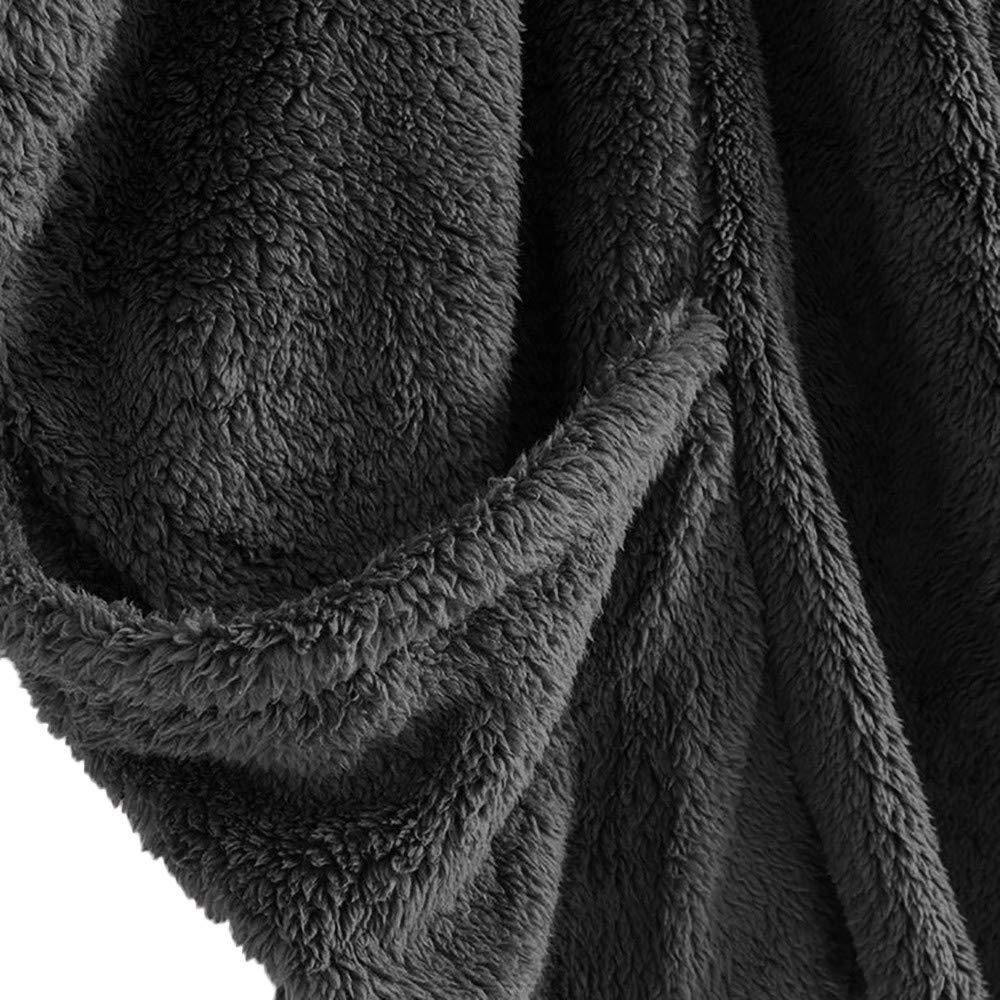 POLPqeD Donne Pullover in Pile Maglione a Collo Alto Oversized Cappotto Invernale Giacca Invernale Poncho Mantella Trench Cardigans Outwear Cappotto Invernali da Donna