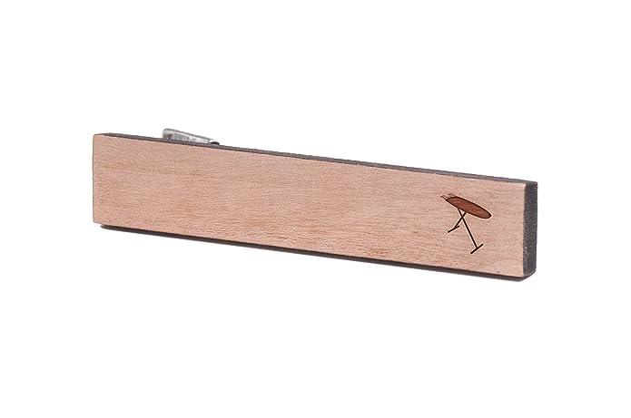 Tabla de planchar, de madera de corbata Tie Bar: Amazon.es: Joyería