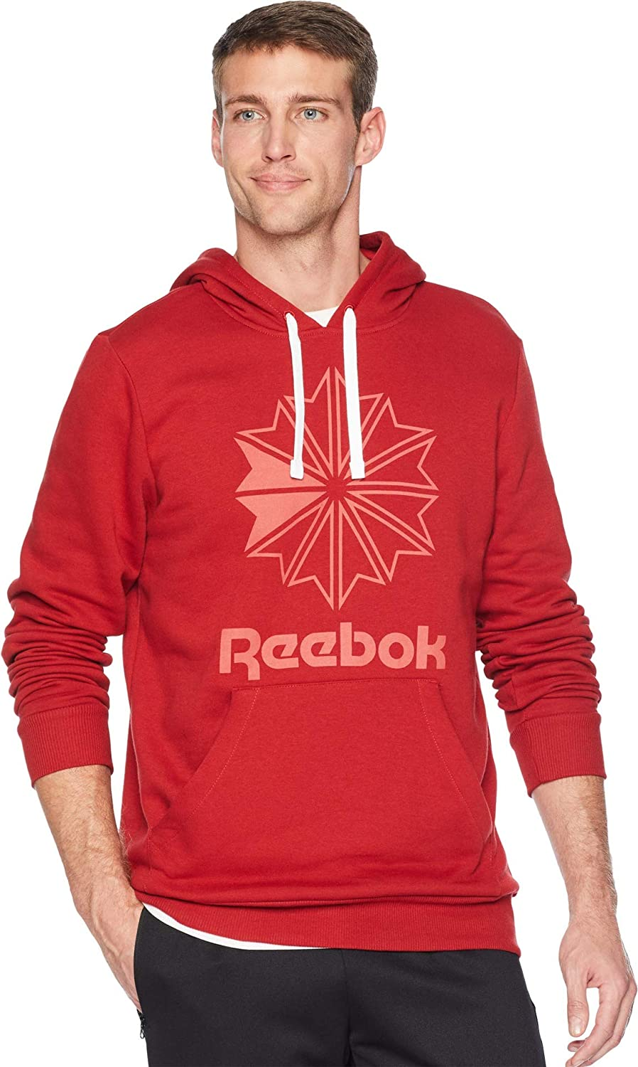 e276a19f Amazon.com: Reebok Men' Foundation Starcrest Hoodie: Clothing