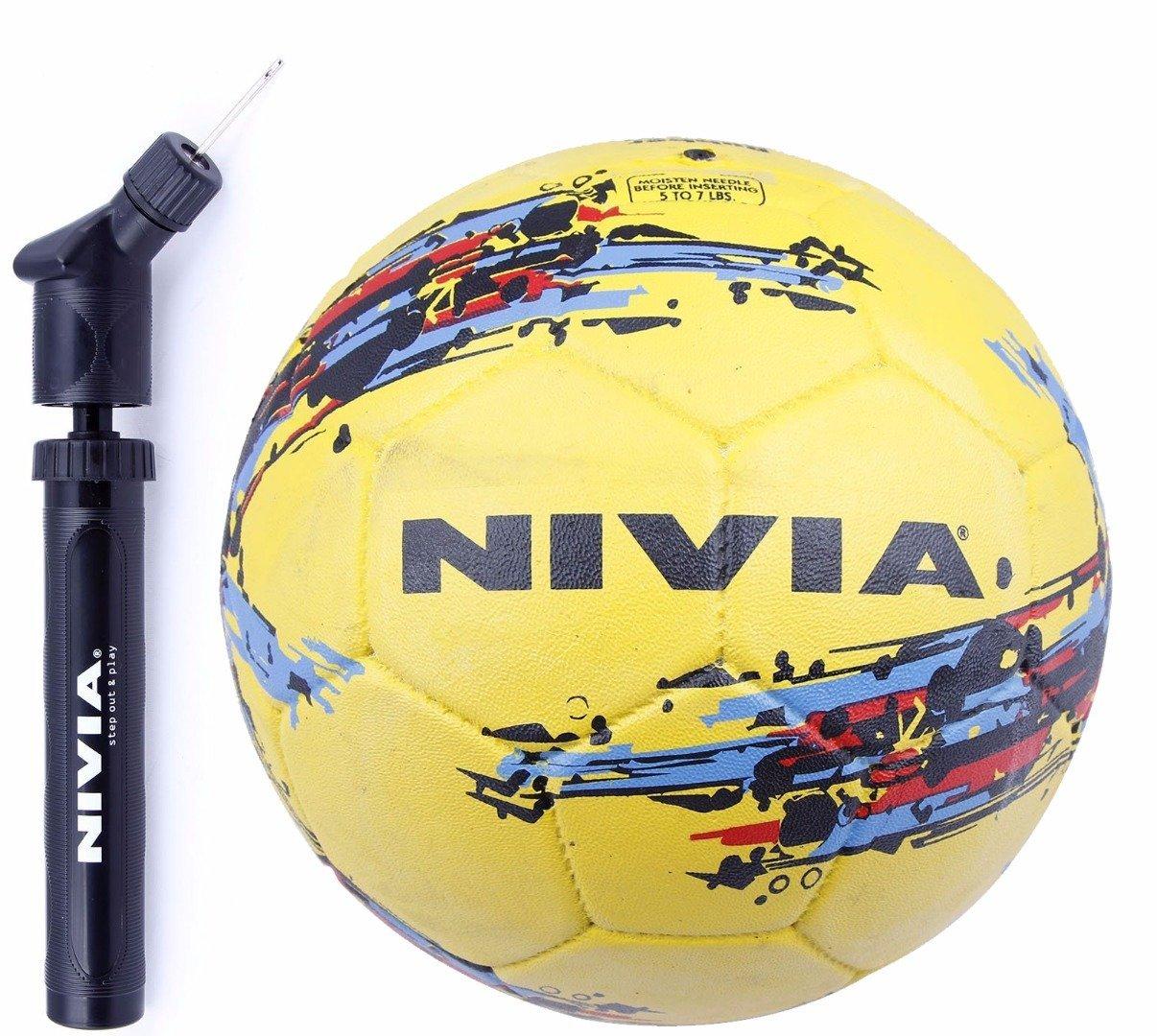 Nivia (Storm Combo de balón de fútbol balón de fútbol, tamaño 5 + ...