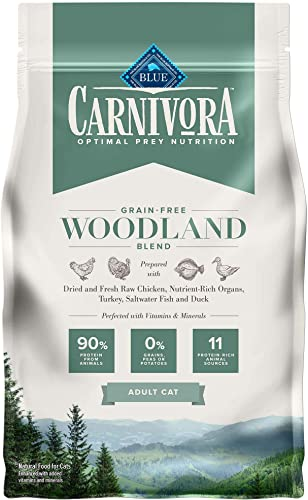 Blue Buffalo Blue Carnivora Woodland Blend Optimal Prey Nutrition High Protein