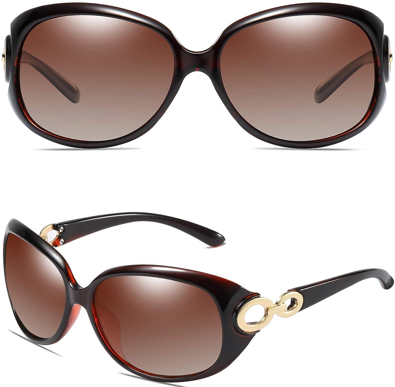 SIPLION Hombre Gafas De Sol Polarizado Lente TR90 Súper ligero Marco