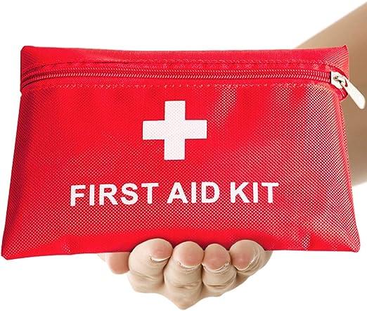 Imagen deTh-some JAANY Botiquín de Primeros Auxilios de artículos, Survival Tools Mini Box Kit Bolsa Médica para Emergencias para el Coche, Hogar, Camping, Caza, Viajes, Aire Libre o Deportes