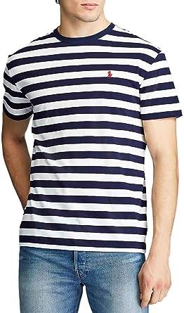 Polo Ralph Lauren Camiseta French Azul Hombre: Amazon.es: Ropa y ...