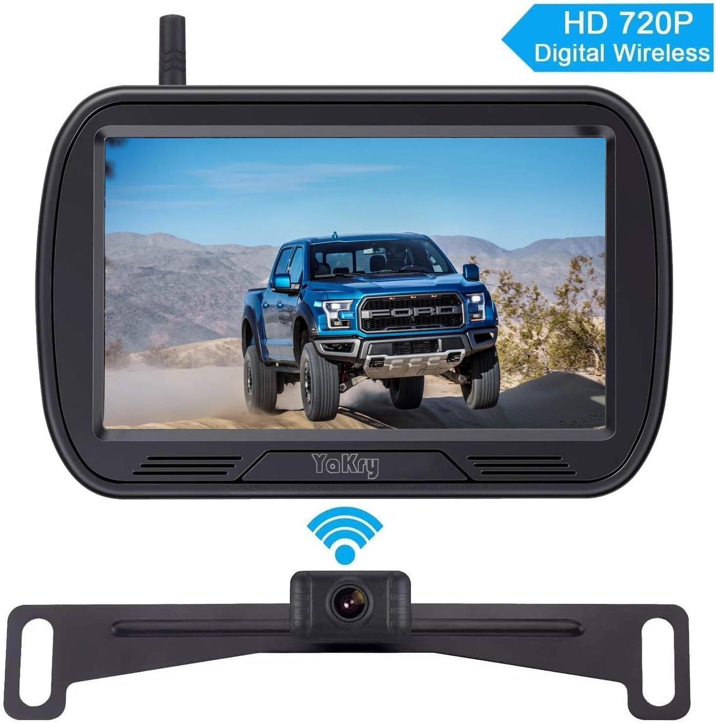 Yakry Y25 HD Digital Wireless Backup Camera System