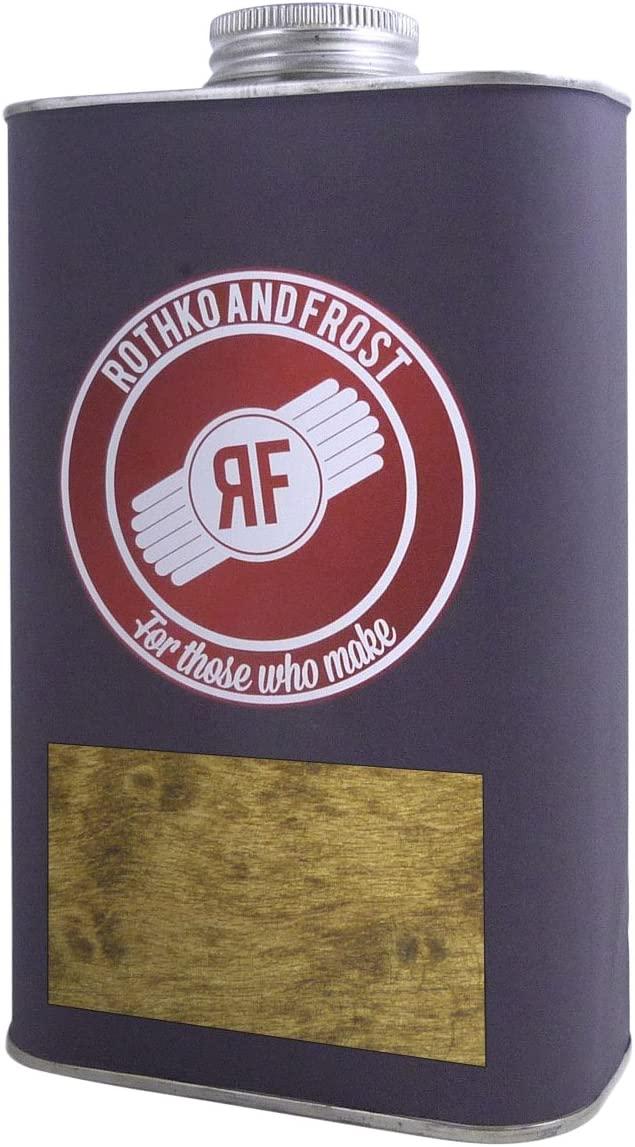 Rothko and Frost FS6163 - R & F Lightfast Espíritu A Base De Madera Tinte - Roble Oscuro