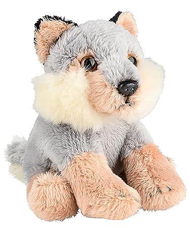 Amazon Com Wildlife Tree 5 Stuffed Wolf Cub Zoo Animal Plush