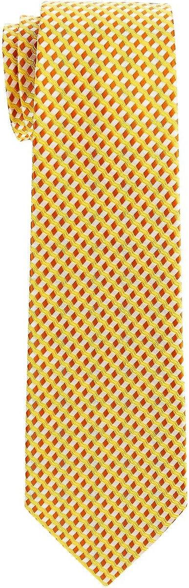 Various Colors 8-10 years Retreez Wavy Zig Zag Stripe Pattern Woven Boys Tie