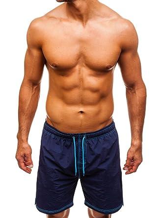 e7e8c55ed07b19 BOLF Herren Schwimmshorts Badehose Schwimmhose Badeshorts Shorts  Sportlicher Stil 7G7  Amazon.de  Bekleidung