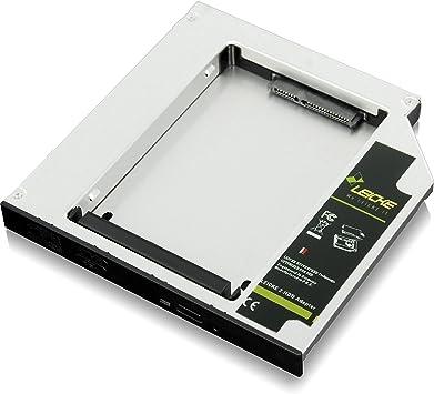 LEICKE - Adaptador DUAL SATA 12,7 mm 2da. Generación | 2.HDD ...