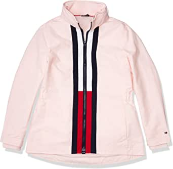 Tommy Hilfiger Women's Adaptive Windbreaker Jacket with Magnetic Zipper