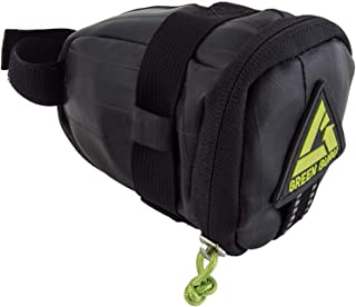 product image for Green Guru- Black Clutch Saddle Bag for Bike/Bicycle