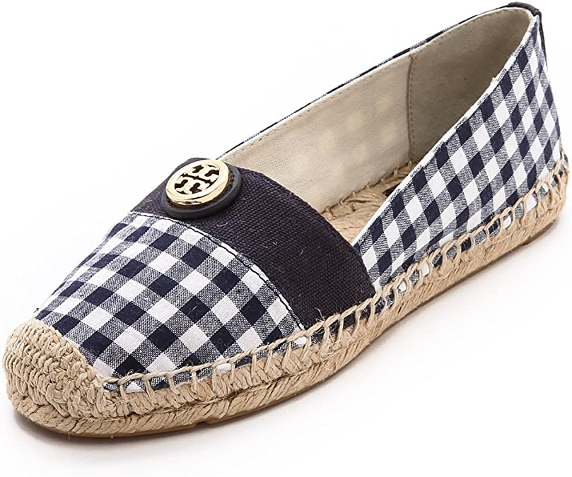 Tory Burch Espadrille Flat Canvas Shoes