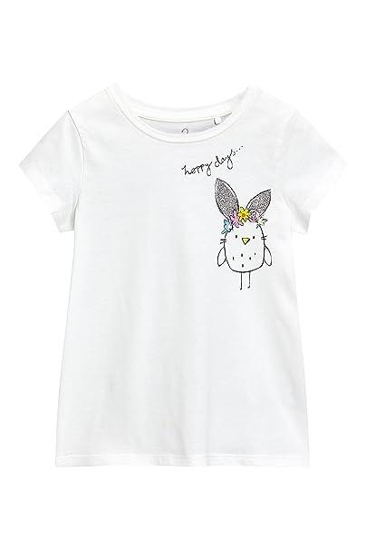 Next Camiseta Conejito Con Niñas De Pollito Pascua Corta Y Manga FK1JlTc3