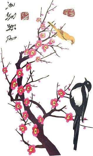 Strass Paillettes Mini Tatouages Ephemeres Oiseau Japonais Waterproof Tatoo Temporaire Bijou De Peau Amazon Fr Bijoux