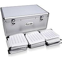 Aluminium CD DVD Bluray Storage Case Box 500 Discs SL
