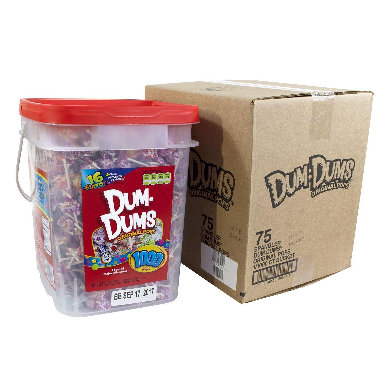 Dum Dums Lollipops Assorted (1000 ct.) by Dum Dum