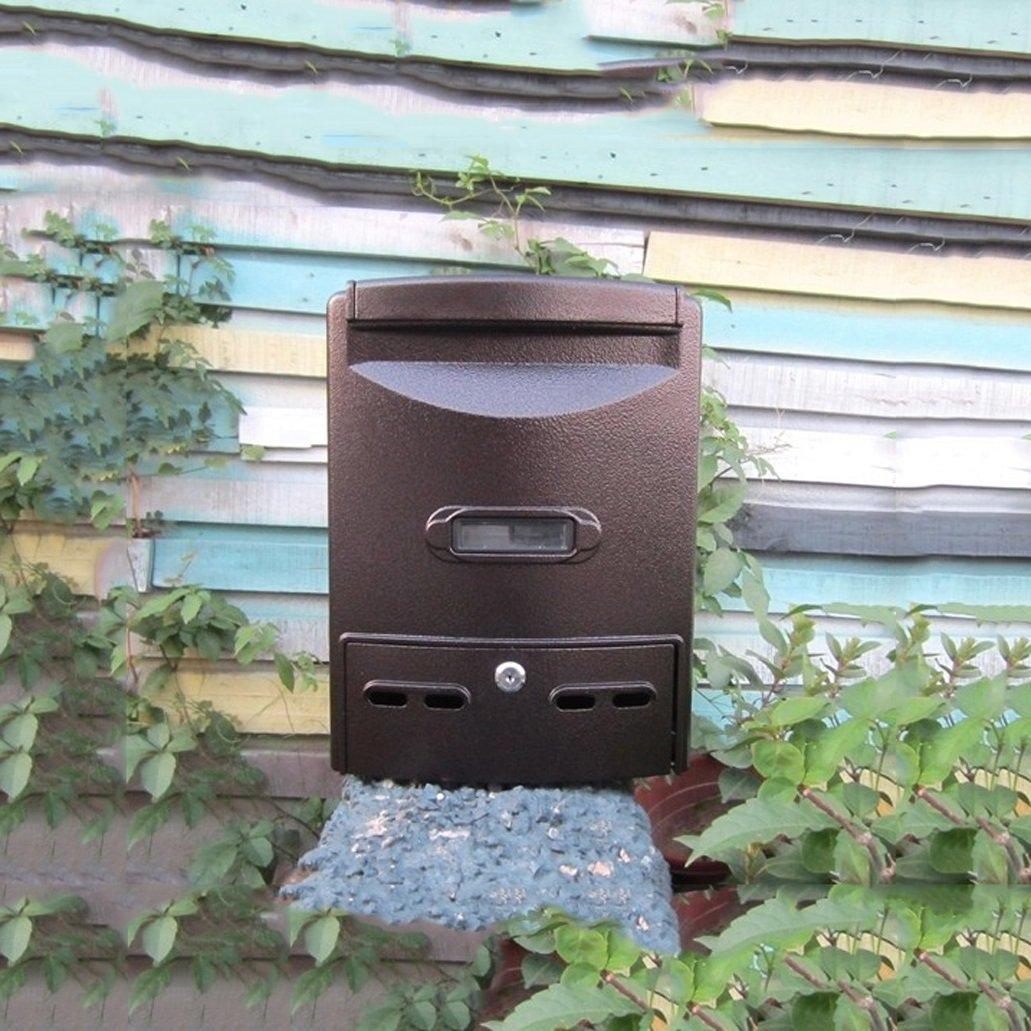 HZBc ヨーロッパの郵便箱防水屋外の郵便箱提案欄の部屋外壁コレクションボックス、壁の装飾、ポルトロ   B07L7RN8F3