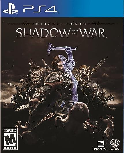 Amazon com: Middle-Earth: Shadow Of War - PlayStation 4