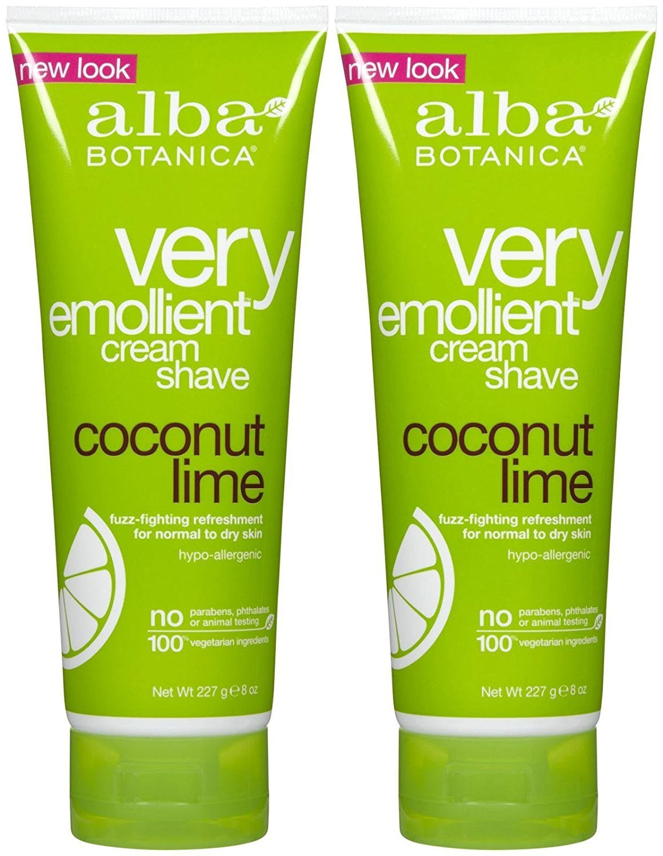 Alba Botanica Moisturizing Cream Shave, Coconut Lime - 8 oz - 2 pk Quidsi HC-394B