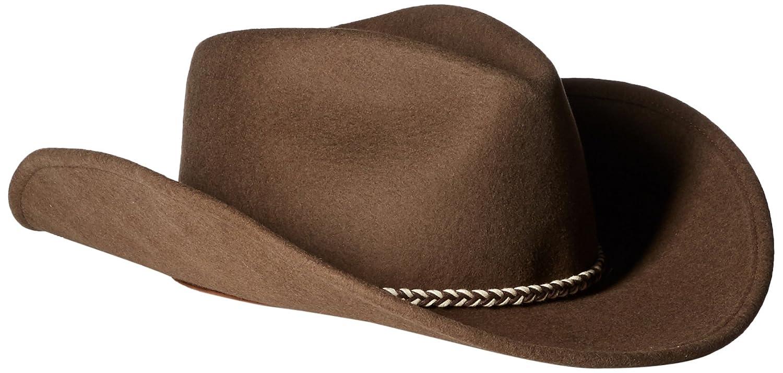 Stetson Men's Rawhide 3X Buffalo Felt Hat - Sbrawh-8334 Mink 096F65
