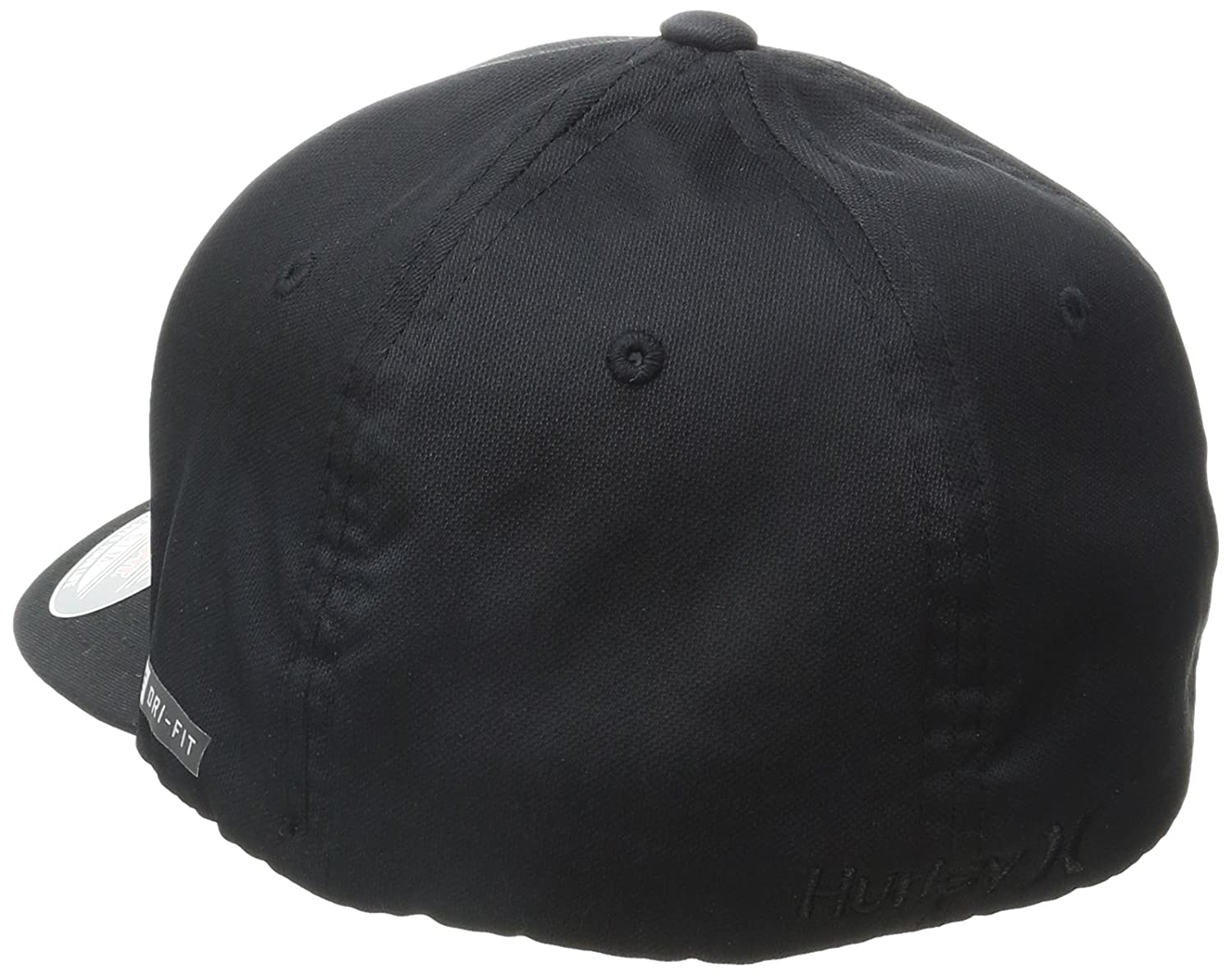 ae7812e8a66 Amazon.com  Hurley Mens Dri Fit One and Only Cap S M Black  Clothing