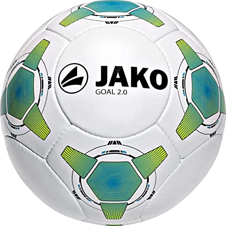 Jako Goal 2.0 - Balón de fútbol (14 Paneles) Multicolor Weiß/Jako ...