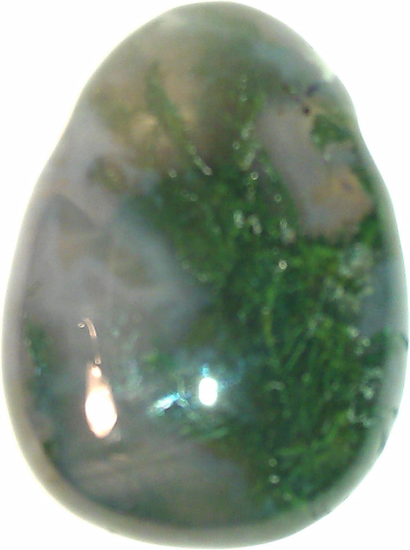 Colgantes de piedra musgo ágata