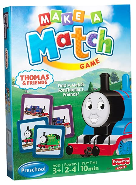 Mattel Games Thomas Friends Make A Match Game