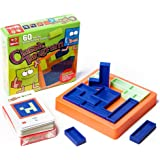 Travel games Tangrams Puzzles Building Block With 60 Game Cards Kid Adult Challenge IQ Educational Toy