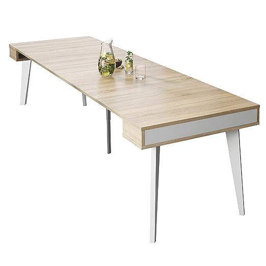 SelectionHome - Mesa de Comedor, Salon, Consola Extensible, Modelo ...