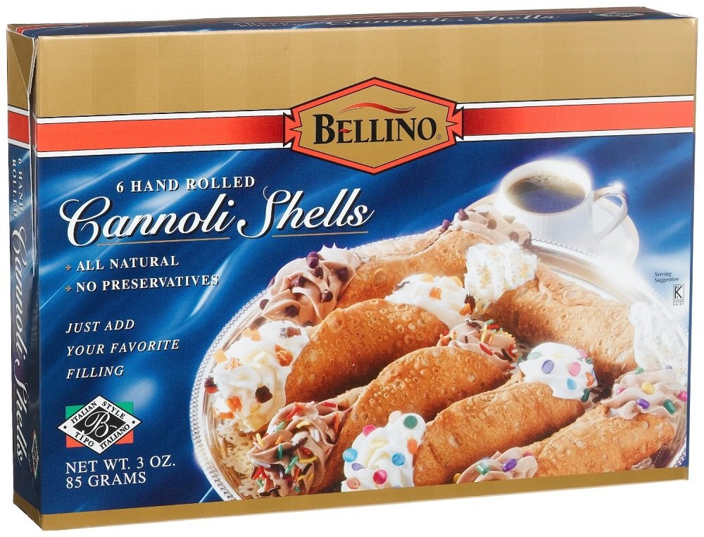 Bellino - Hand Rolled Cannoli Shells, (3)- 3 oz. Boxes