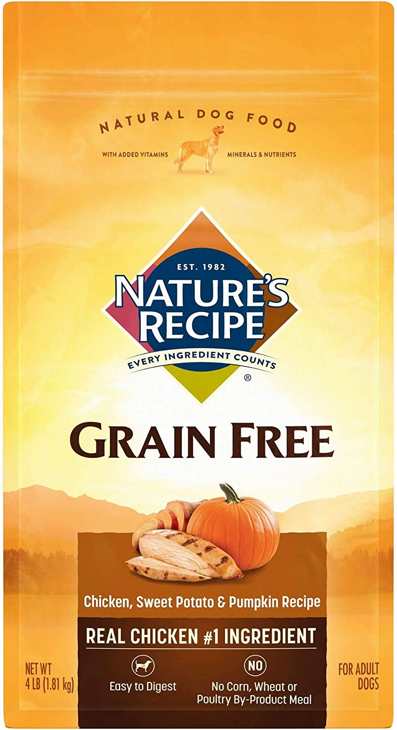 Nature'S Recipe Grain Free Dry Dog Food Chicken