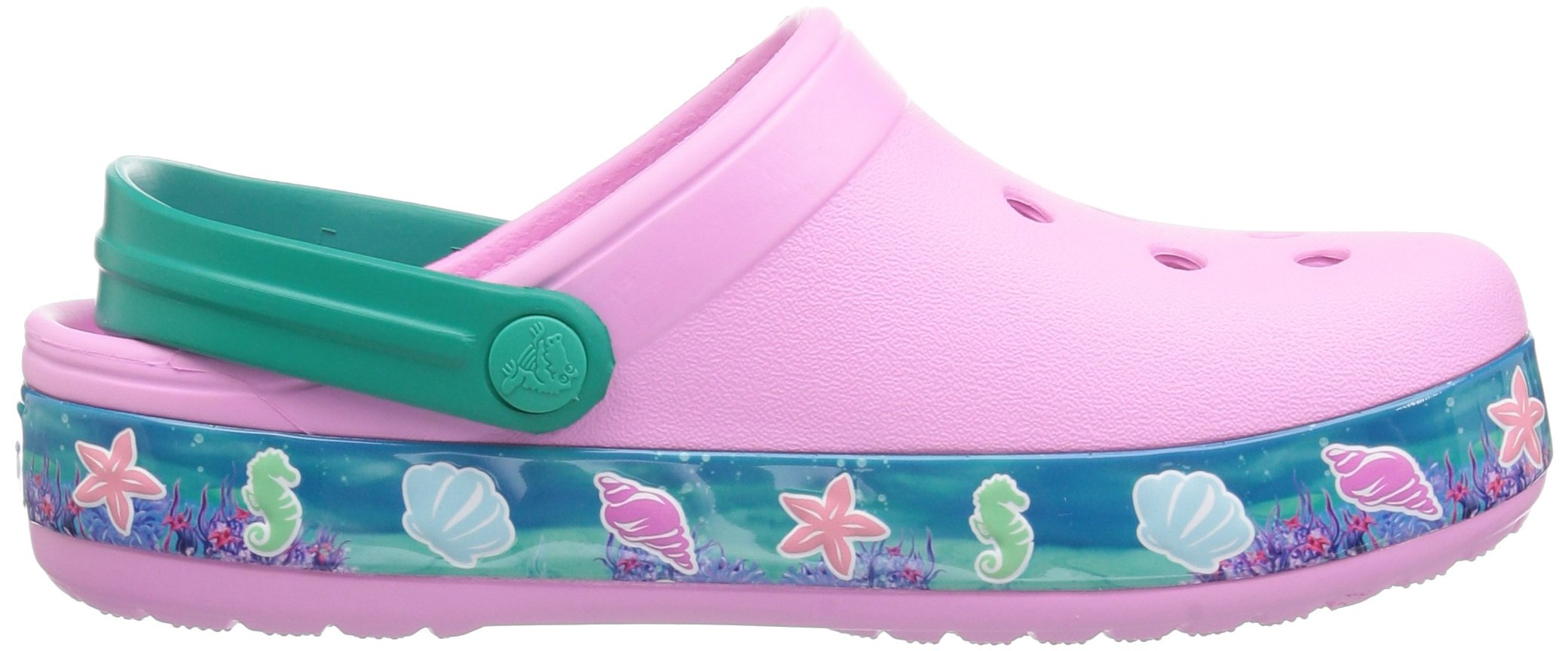 Crocs Unisex-Kids  CB Princess Ariel Clog K , carnation , C10 M US Toddler by Crocs (Image #7)