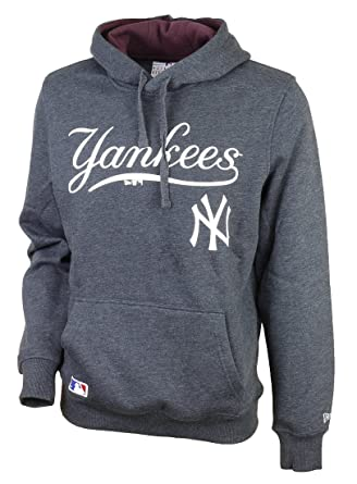 best sneakers c7b21 0e1fa New Era Mens New York Yankees MLB Hoody in Navy- Ribbed ...