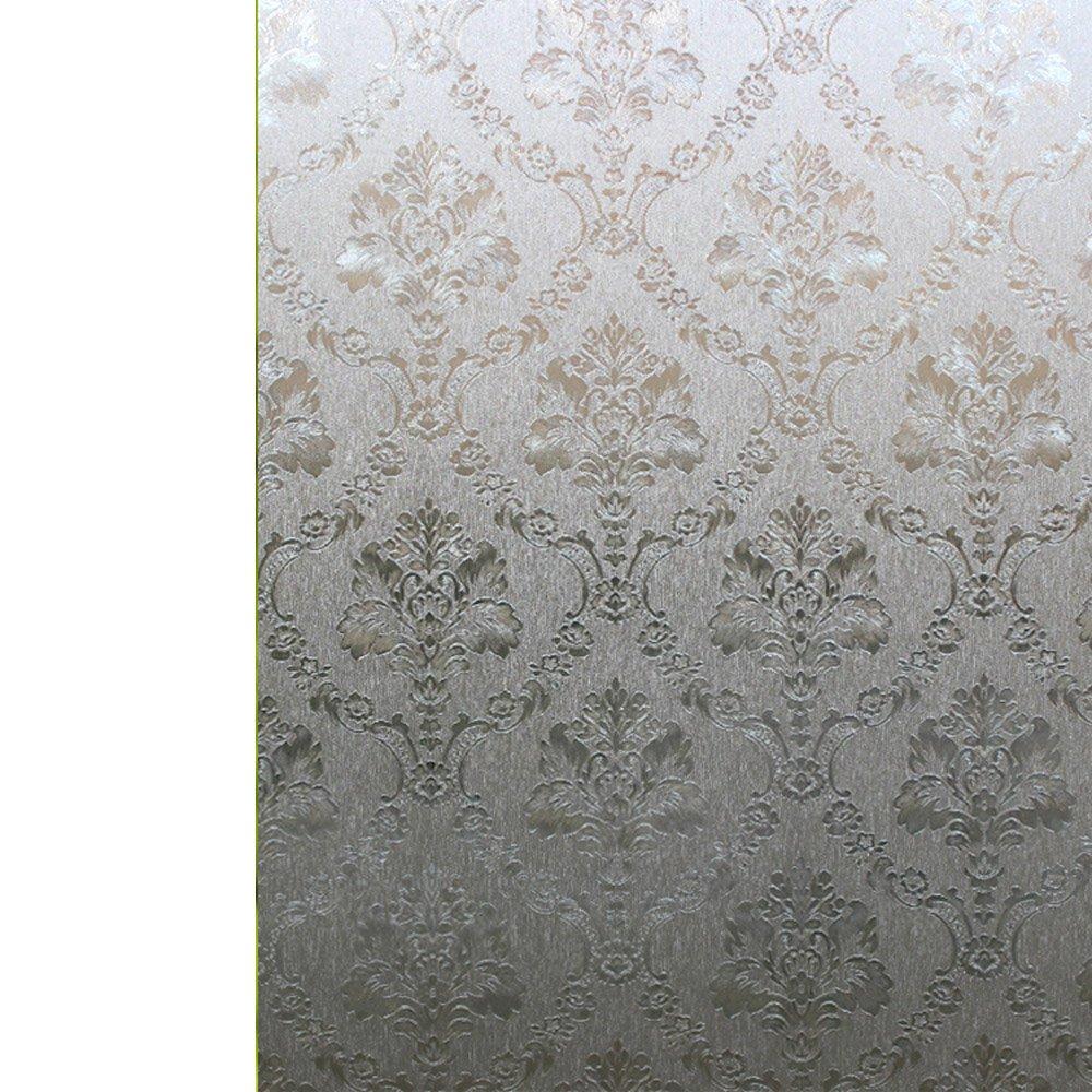 YETUGE 静電ステンドグラス風ガラスフィルム のり不要  窓飾り 目隠し はがせる 防水 断熱 | ウィンドウフィルム B07DGRLSVG 90*2000CM|88 88 90*2000CM