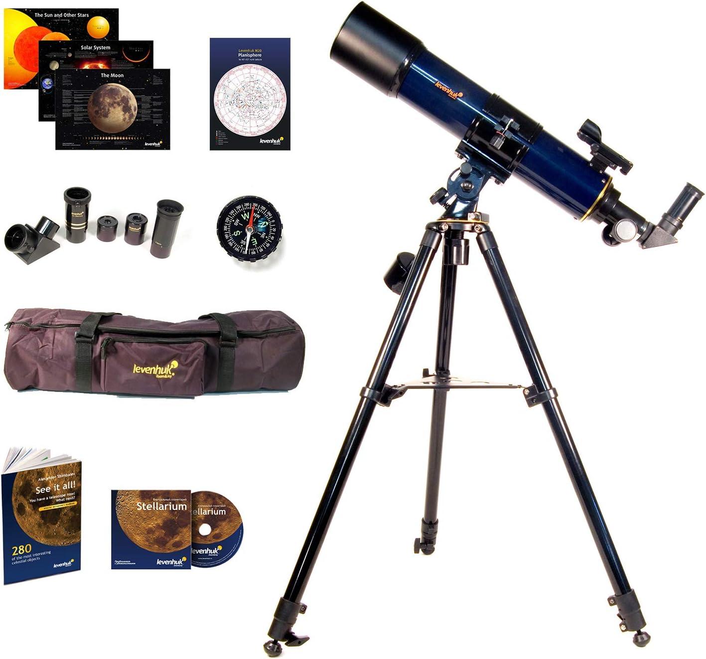 Levenhuk Strike 90 Plus Refractor AZ Mount Telescope