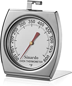 Sinardo Kitchen Oven Large Dial Thermometer