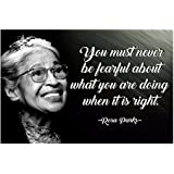 Rosa Parks Quote Posters Black History Month African American Wall Art Womens History Month Poster African Empowered Women Em