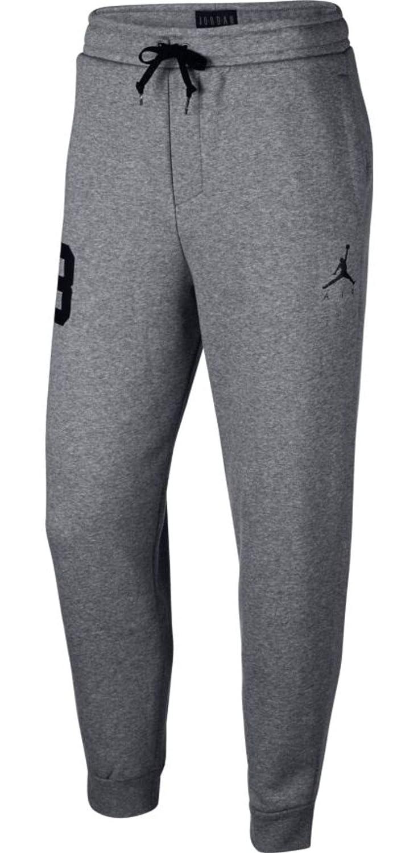 competitive price 0f705 9d6ff Jordan Men s Sportswear Jumpman Air Graphic Pants AV2323-091 Carbon  Heather Black at Amazon Men s Clothing store