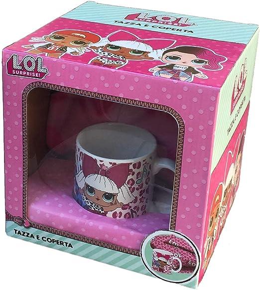 LOL Taza Mug+Manta en Caja Regalo: Amazon.es: Hogar